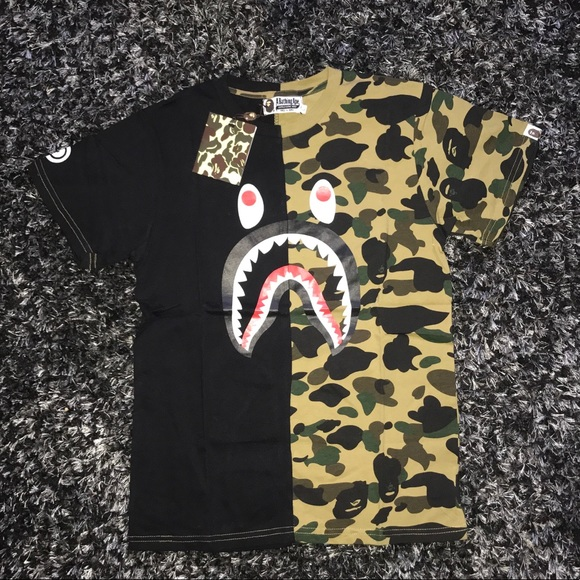 5cc76123 Bape Shirts   Camo Short Sleeve Tshirt   Poshmark